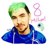 Jacksepticeye 8 Million Subscribers