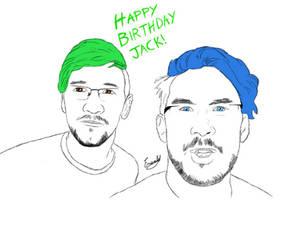 Happy Birthday Jacksepticeye! Feat. Markiplier