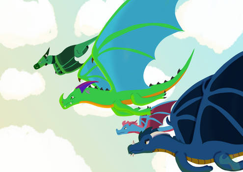 Never Forget Your First Dragon Friends