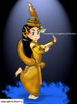 Cambodia Golden Mermaid (Khmer Classic Dancing) by HourtLy