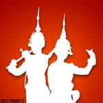 Khmer Dancing Show (Shadow)