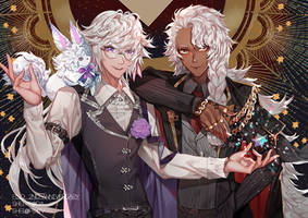 Fate/Grand Order Grand Casters by Shei99