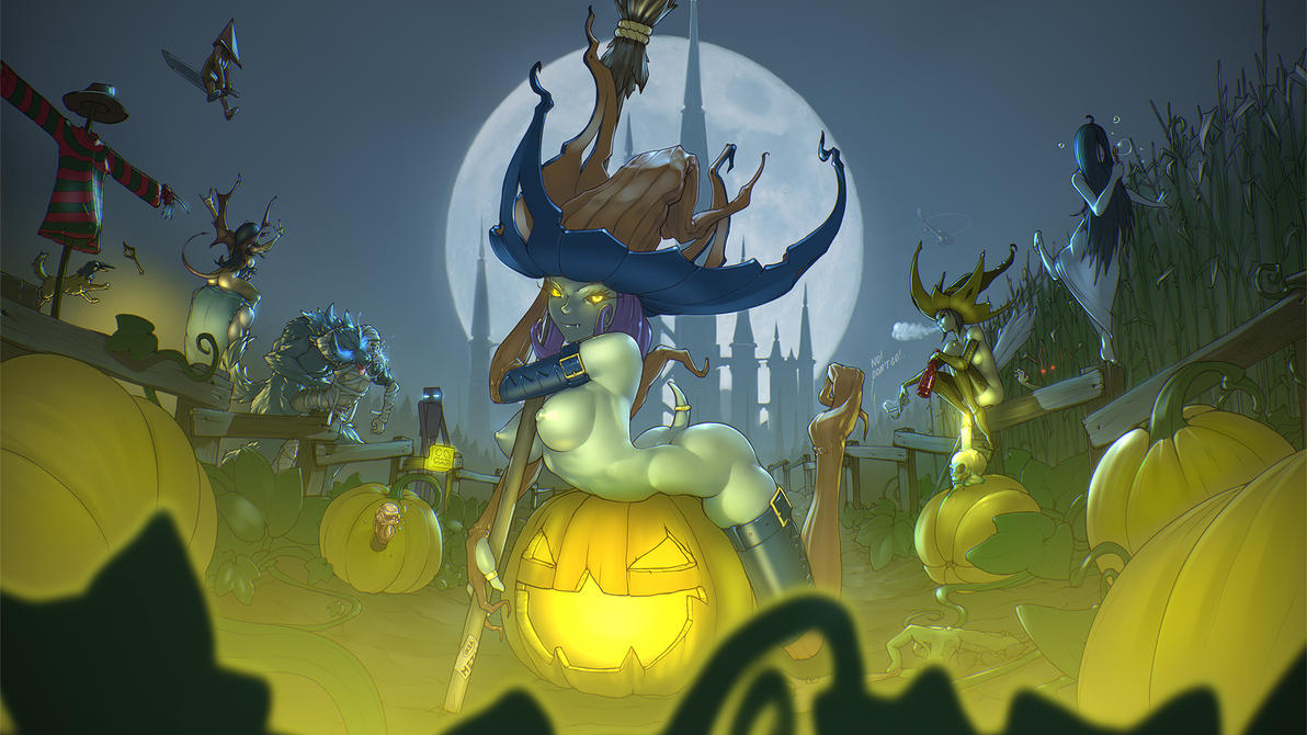 halloween by xbost