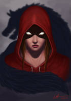 Red Riding Hood by gehenna-angel