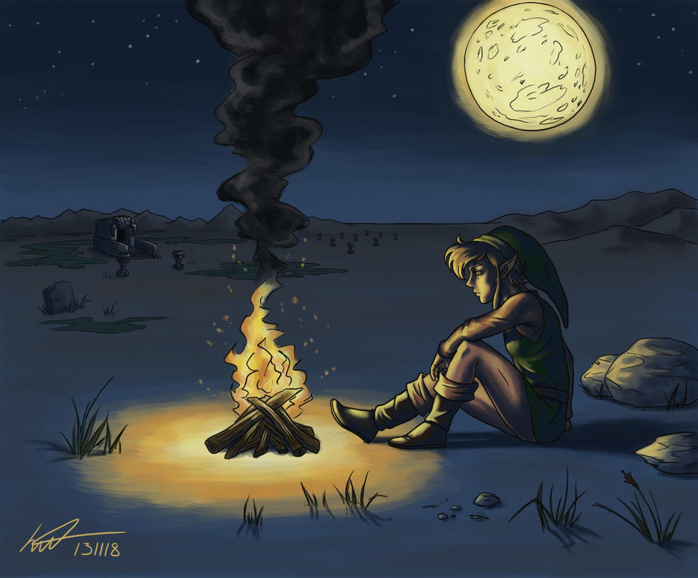 Image result for deviant art campfire