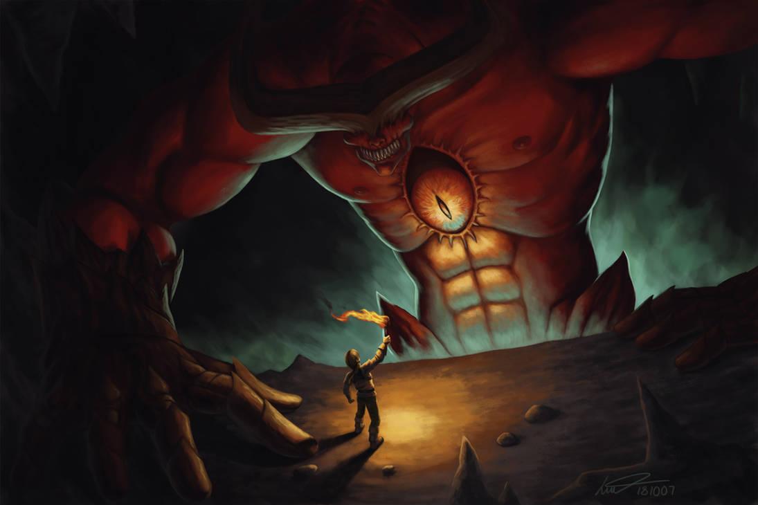 Demon Lair by gehenna-angel