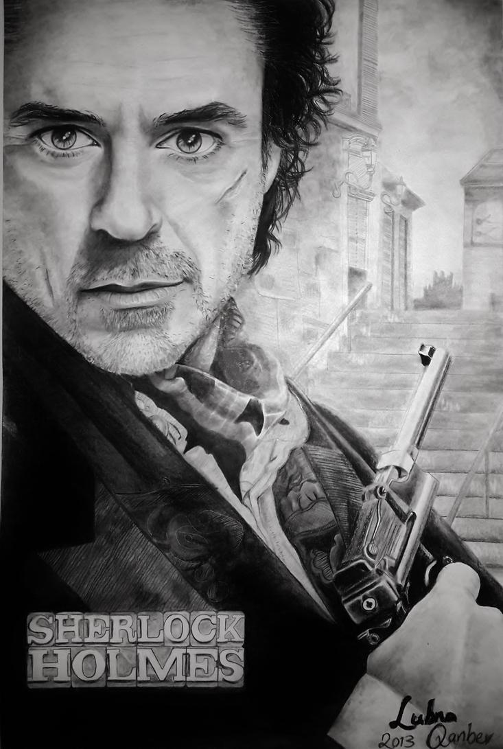 Sherlock Holmes by LubnaQanber