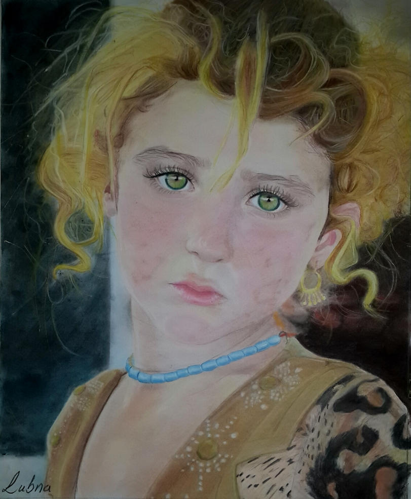 Iraqi Mona Lisa by LubnaQanber