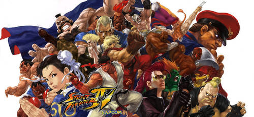 street fighter IV by EastMonkey