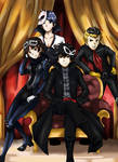 My team in Persona 5
