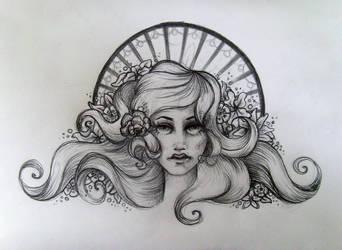 Art Nouveau Sketch