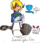 Jeremie's Lyoko form