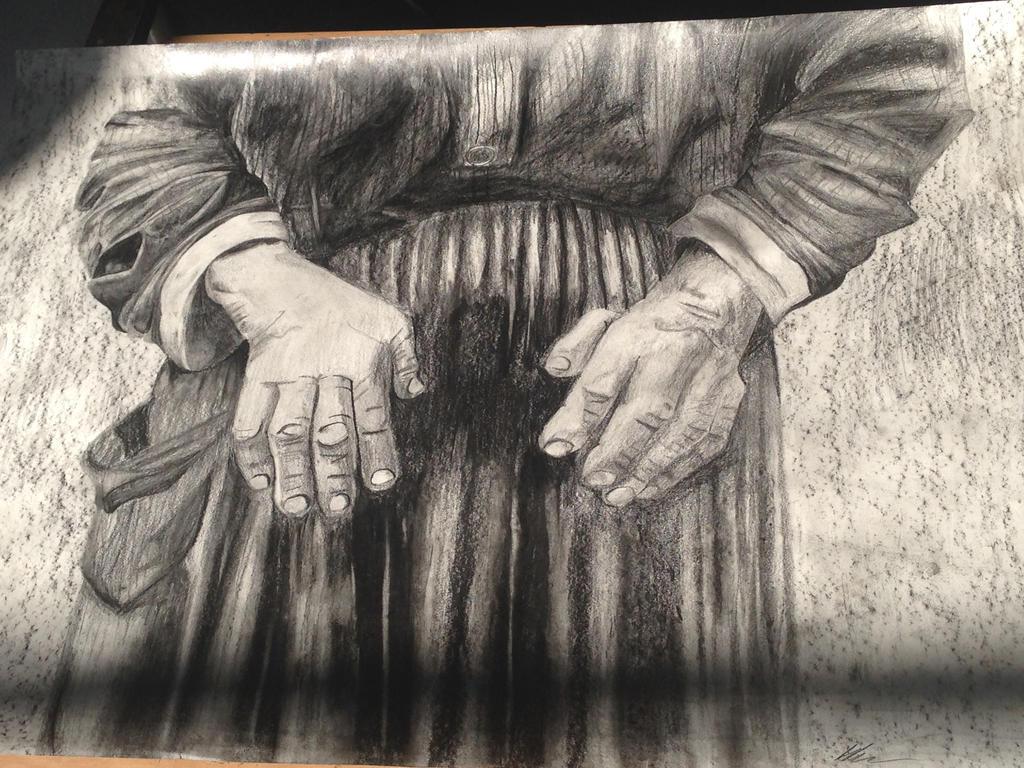 Hand study by Jennifer-Rose-Talbot