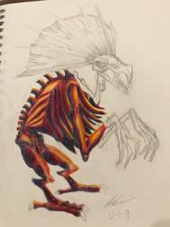 Crested Beast