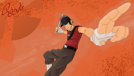 Scout TF2 by Reyzuken