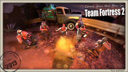 Team Fortress 2 Invitation by Reyzuken