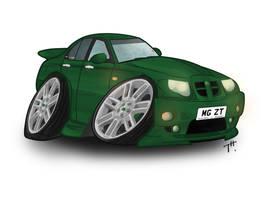 'Gang Green' MG ZT by TonyTheToonist