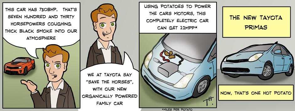 Comic: Hot Potato by TonyTheToonist