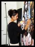 CSUCI Art Student