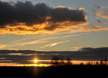 Golden hour by maslenkina