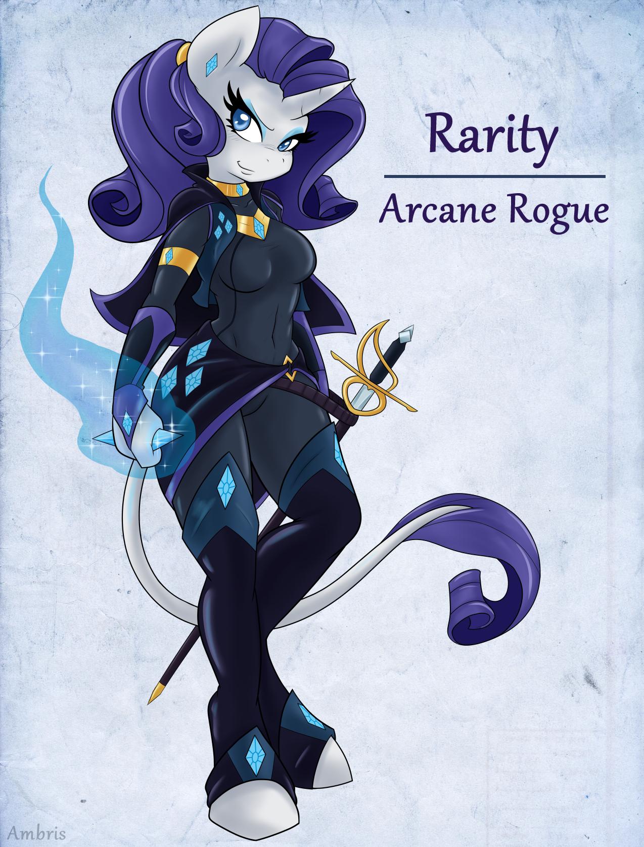 Adventuring is Magic: Rarity by Ambris