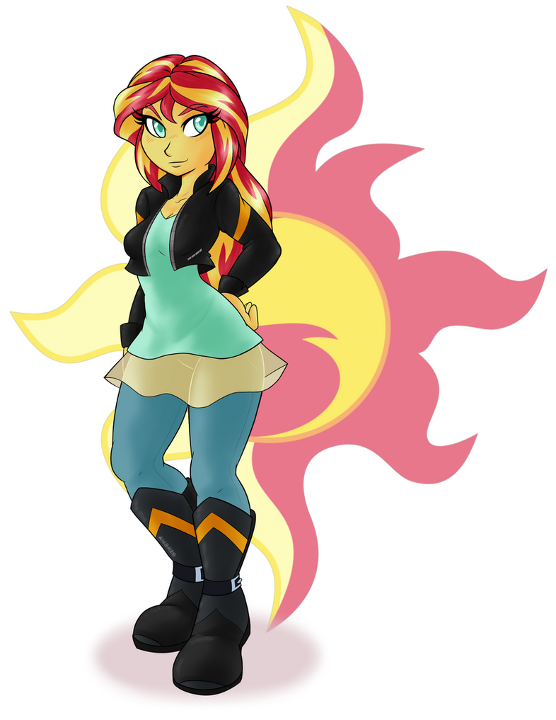 Sunset Shimmer Print by Ambris