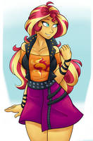Sunset Shimmer by Ambris