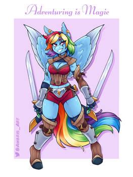Adventuring is Magic: Rainbow Dash