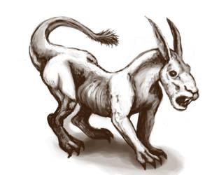 Creature by brindlegreyhound