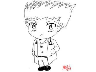 Chibi Doctor by sabersdawn