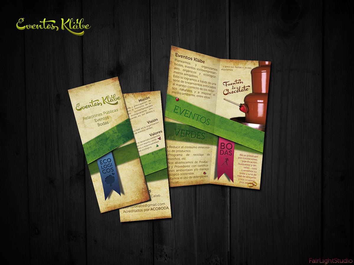 Eventos Klabe brochure