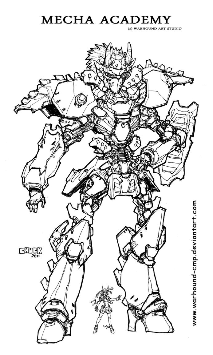 Mecha Academy M1 INKS 4132011 by Warhound-CMP