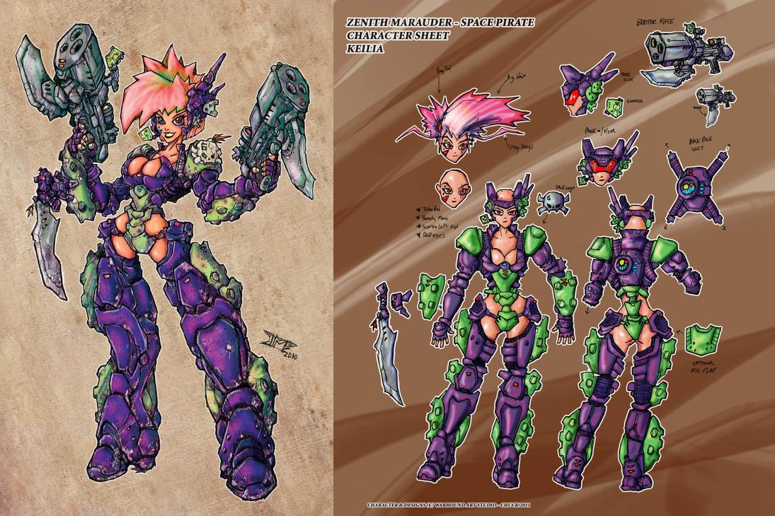 Space Pirate Design v1 20116 by Warhound-CMP
