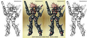 Space Pirate Battle Armor 0711 by Warhound-CMP