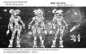Nexx ZENIRI - SINGULARITY ANIME SPACE OPERA RPG