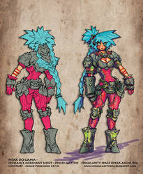 Colors TEST -  Nexx Character SINGULARITY
