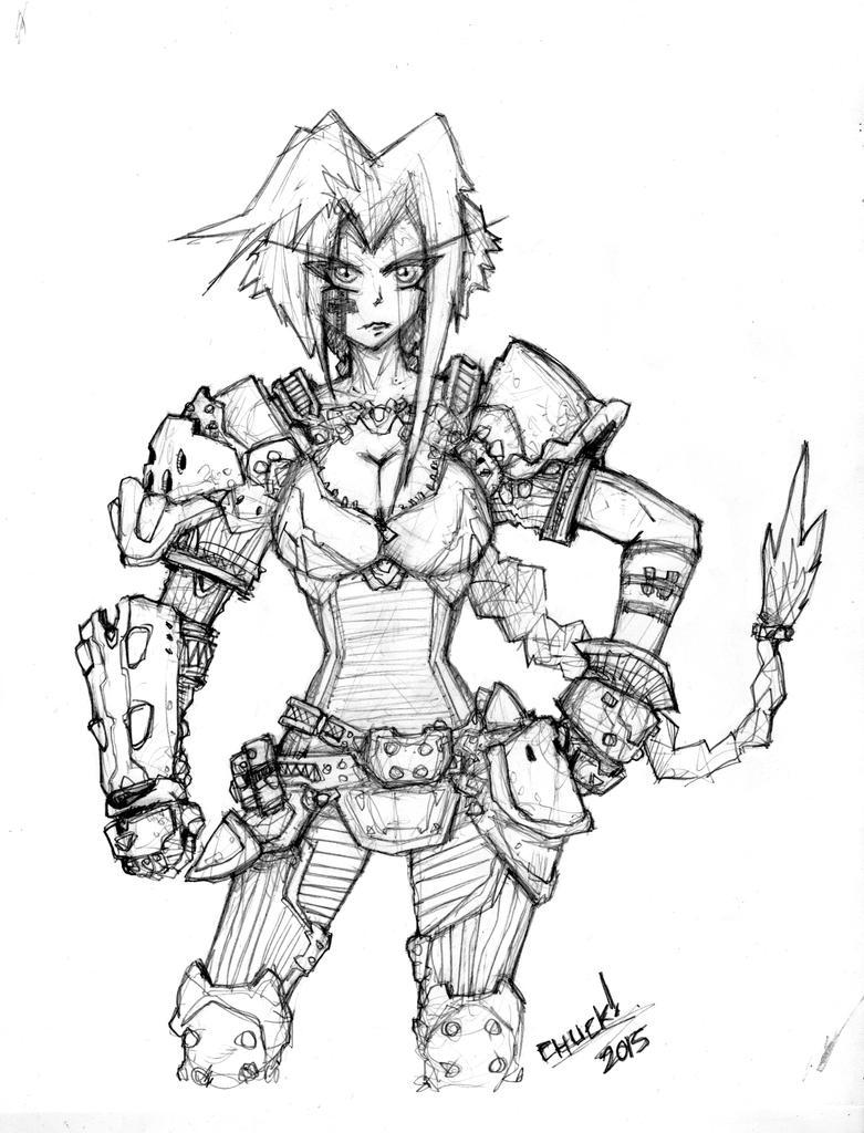 Sketch Pencils NEXX - Space Pirate Merchant by Warhound-CMP