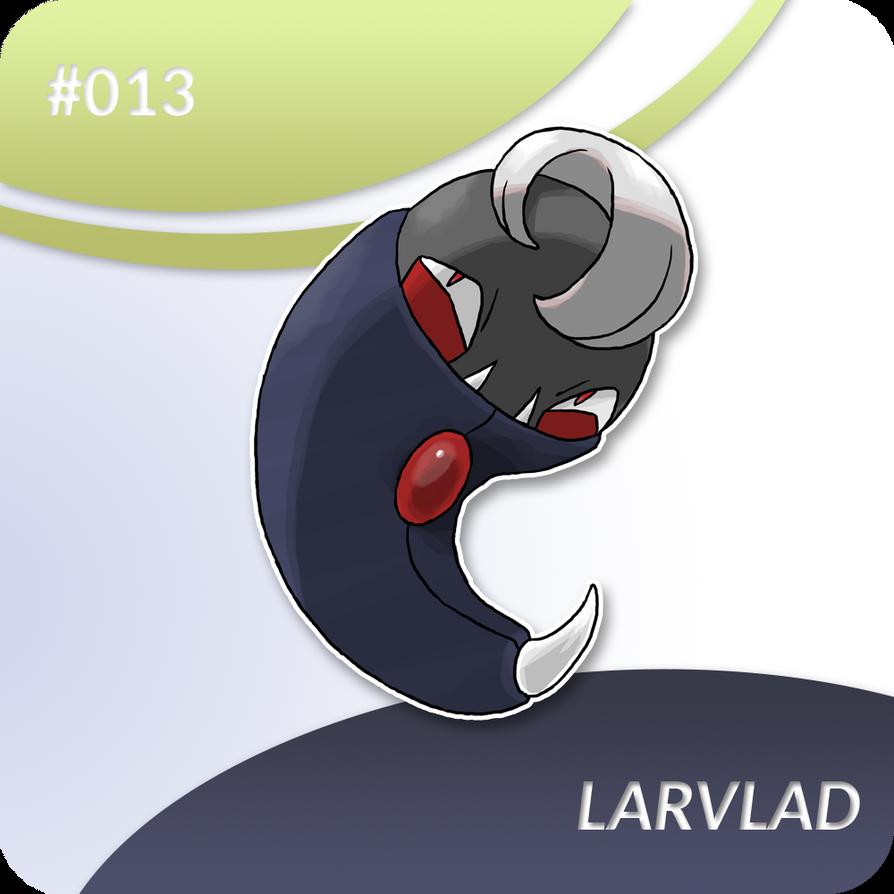 013-Larvlad [Hareki Fakemon] by Whisperchime