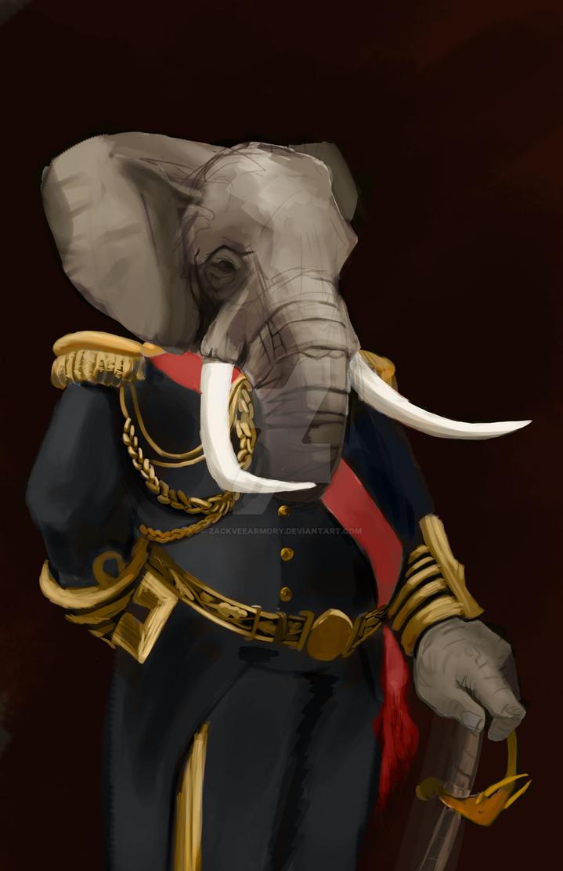 elephant man by zackveearmory