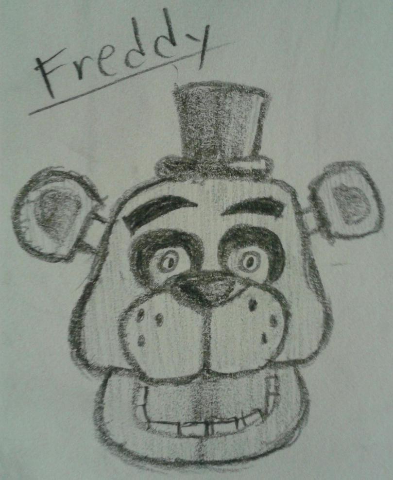 Freddy Fazbear by InvaderAllieNinja