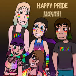 Unlikely Heroes Pride 2018 by IzzyNinja