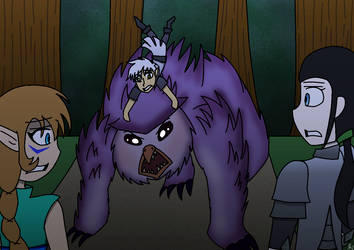 Owlbear Attack by IzzyNinja