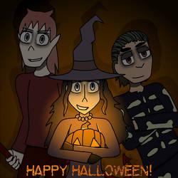 Unlikely Heroes Halloween 2018 by IzzyNinja