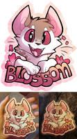 BlossomHop ConBadge