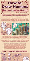 HOW TO DRAW HUMANS (for animal artists) Intro
