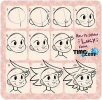 How to Draw Lucy!