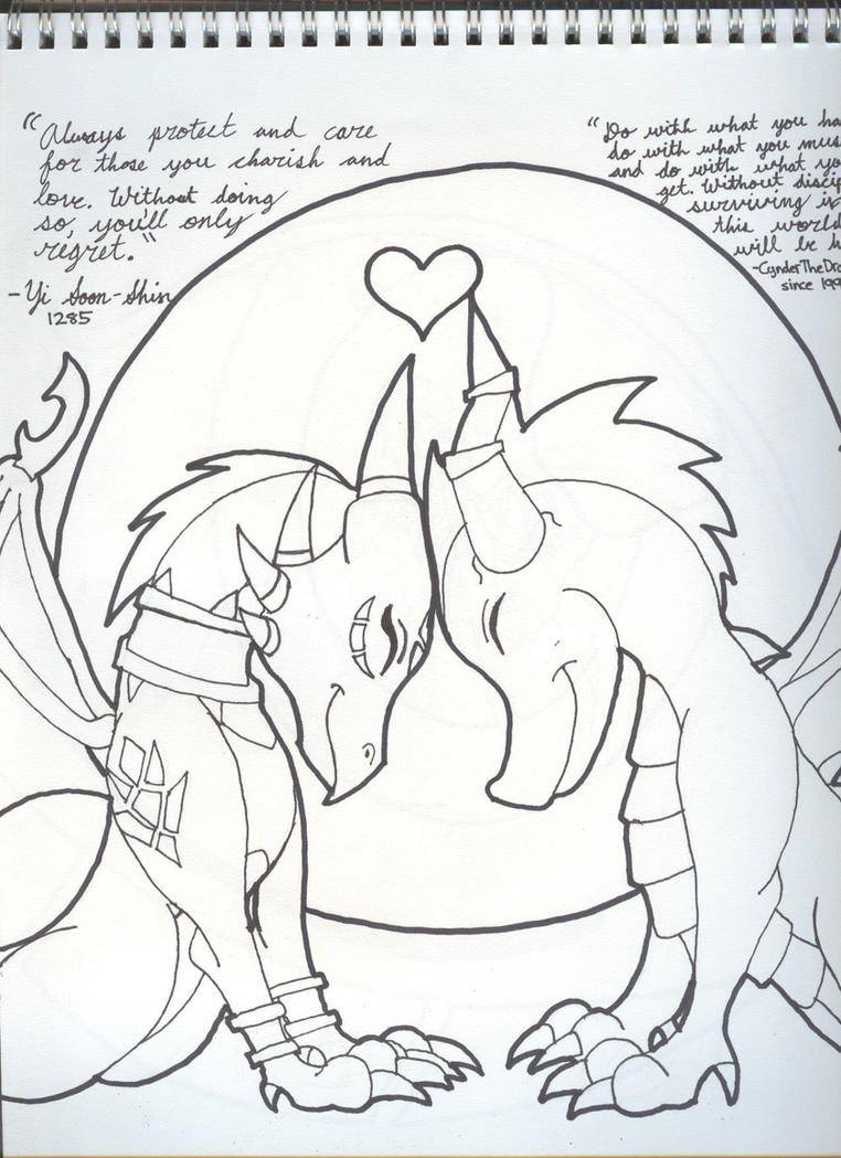 spyro and cynder coloring pages - photo#10