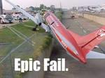 Plane Epic Fail