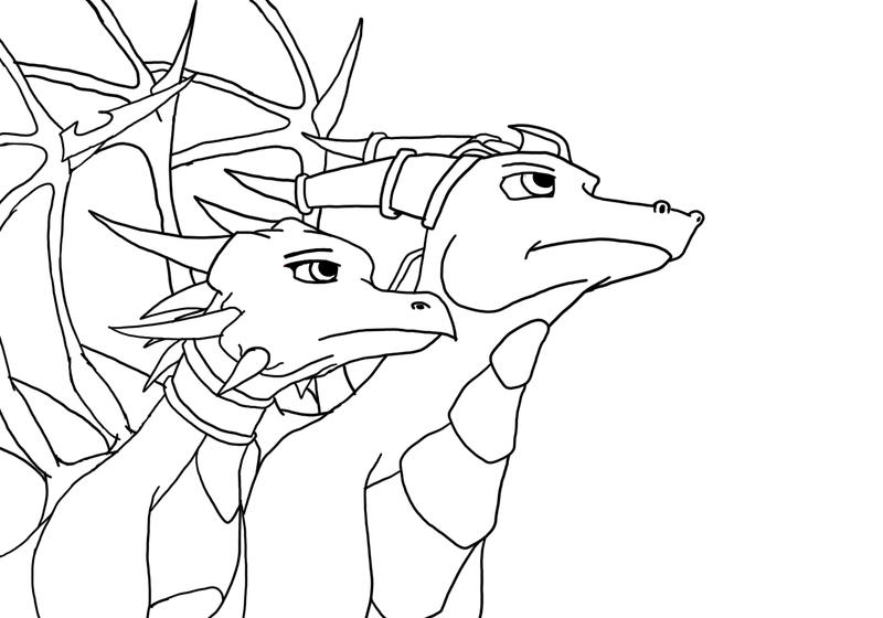 spyro coloring pages printable - cynder and spyro free coloring pages