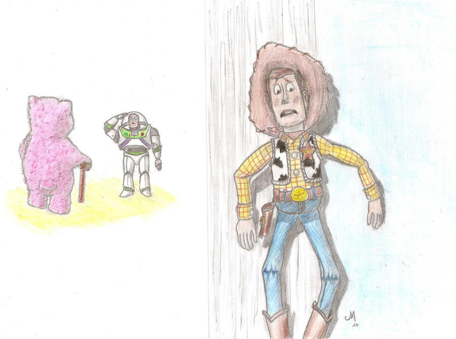 Woody, Buzz and Lotso the evil by Manxeel on DeviantArt